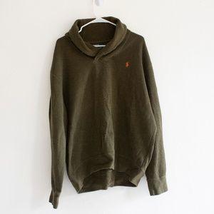 Polo by Ralph Lauren Men's Green Sweater